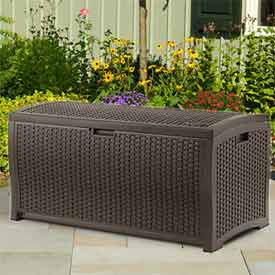 Suncast® Wicker Deck Boxes