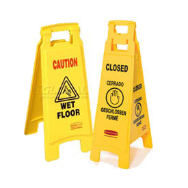 Rubbermaid® Caution/Safety Floor Signs, Cones, and Spill Pads