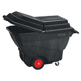 Rubbermaid® Structural Foam Plastic Tilt Trucks - up to 1 Cu. Yd. Capacity