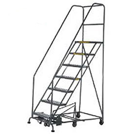 Easy Turn Steel Rolling Ladder