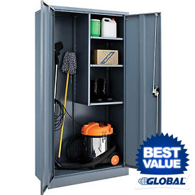 Global™ Janitorial Cabinet - 36