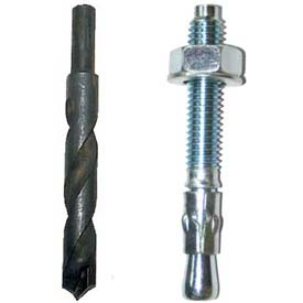 Vestil Dock Bumper Installation Bolts & Drill Bits