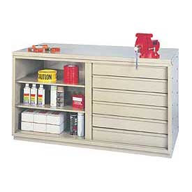 Heavy-Duty Cabinet Benches