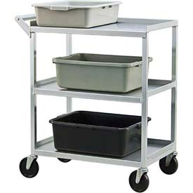 New Age Aluminum Utility & Bussing Carts