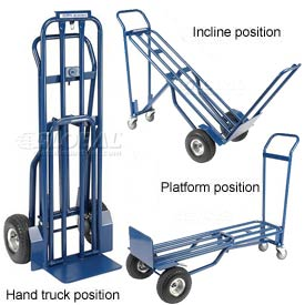 Steel 3-in-1 Convertible Hand Trucks
