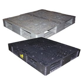 Four-Way Entry Rackable Plastic Pallets
