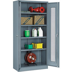 Global® Ventilated Door Storage Cabinets