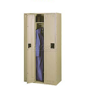 Tennsco Assembled Locker With Recessed Handle