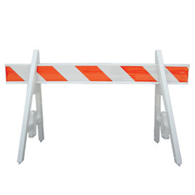 Portable High Visibility Safety Barricade