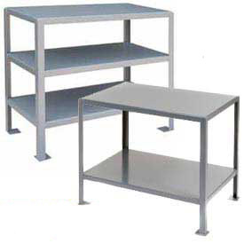 2 Shelf Machine Table 36 X 18