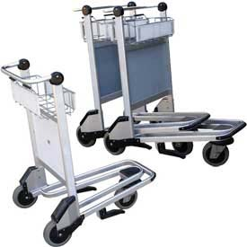 Vestil Nestable Multi-Use Platform Shopping Cart with Brakes