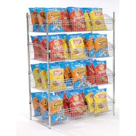 Nexel® Wire Shelf Baskets - Chrome