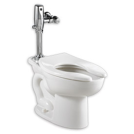 American Standard 3461001.020 Madera ADA Elong Toilet W/Everclean, 1.1-1.6GFP