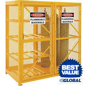 Global&#8482 Gas Cylinder Storage Cabinets