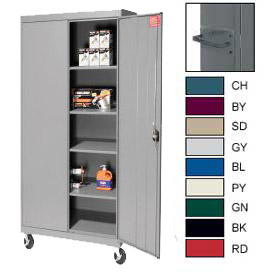 Sandusky All-Welded Mobile Storage Cabinets