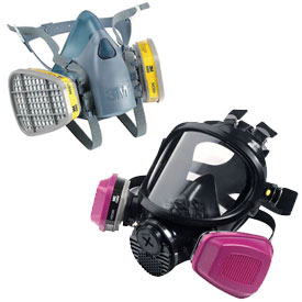 3M™ Face Mask Cartridge Respirators And Replacement Filters