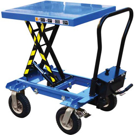 Vestil Pneumatic Tire Hydraulic Elevating Carts