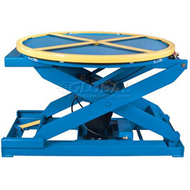 Air-Operated Self-Leveling Pallet & Skid Carousel Positioners