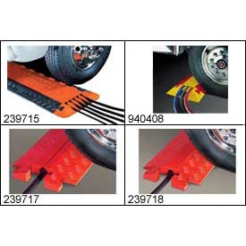 Vehicle Pedestrian Modular Cable & Hose Guard/Ramp