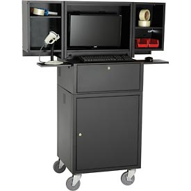 Mobile Fold Out Computer Cabinets