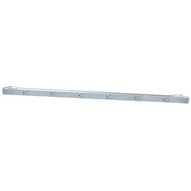 Wire Rack Accessory Outlet Strip 6 Outlets 115v