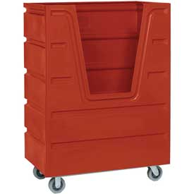 Dandux Red Hopper Front Bulk Truck 51-2460R 48 Cu. Ft.