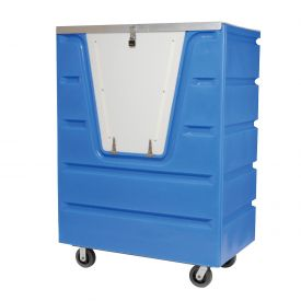Dandux Blue Hopper Front Security Bulk Truck 51-1460SU 38 Cu. Ft.