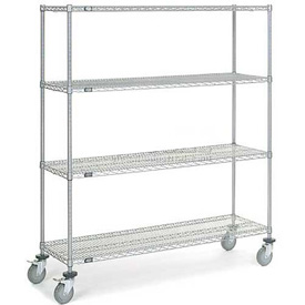 Nexelate Wire Shelf Truck 60 x 24 x 69 1200 Pound Capacity