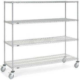 Nexelate Wire Shelf Truck 72x24x69 1200 Pound Capacity