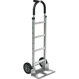 Global Aluminum Hand Truck - Pin Handle - Mold-On Rubber Wheels