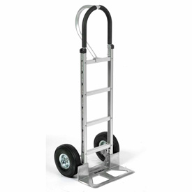 Global Aluminum Hand Truck - Loop Handle - Pneumatic Wheels