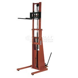 PrestoLifts™ Battery Power Straddle Stacker PSTA2127 Adj. Legs 2000 Lb.