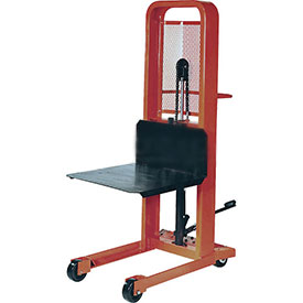 PrestoLifts™ Hydraulic Stacker Lift Truck M352 1000 Lb. Cap. with Platform