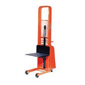 PrestoLifts™ Pacemaker Battery Powered Lift Stacker B566 1000 Lb. 24 x 24 Platform