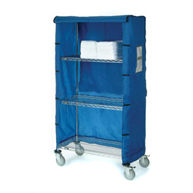"48""W X 24""D X 63""H Blue Nylon Cover"