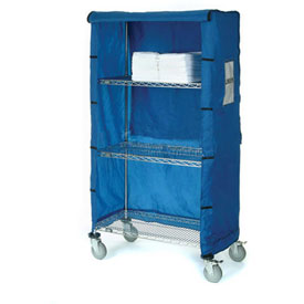 "60""W X 18""D X 74""H Blue Nylon Cover"
