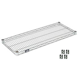 Chrome Wire Shelf 24x18 with Clips