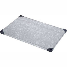 Galvanized Shelf 60 x 24 with Sleeves