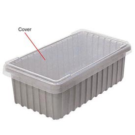 Dandux Snap-On Cover 50B1805LN for Modular Dividable Grid Box, 17-3/4x5-1/2, Clear