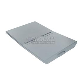 Lid for 1/3 Cu Yd Wright Gray Self Dumping Hopper