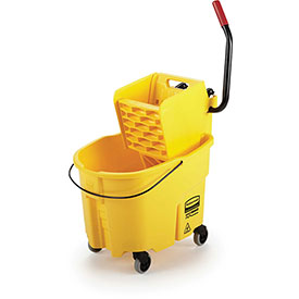 Rubbermaid WaveBrake® Mop Bucket & Wringer Combo w/Side Press, 35 Qt. 7580-88