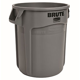 Rubbermaid Brute® 2610 Trash Container 10 Gallon - Gray