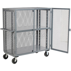 Jamco Security Clearview Truck VR272 with Adjustable Shelf 73 x 26 2500 Lb. Cap.