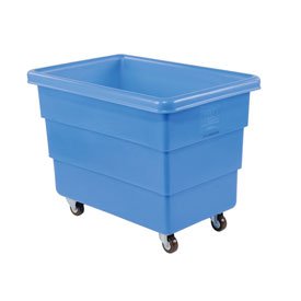 Dandux Blue Plastic Box Truck 51126008U-3S 8 Bushel Medium Duty