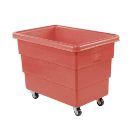 Dandux Red Plastic Box Truck 51126008R-3S 8 Bushel Medium Duty