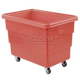 Dandux Red Plastic Box Truck 51126010R-3S 10 Bushel Medium Duty