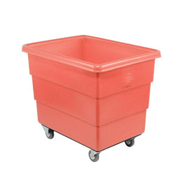 Dandux Red Plastic Box Truck 51126012R-3S 12 Bushel Medium Duty