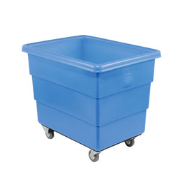 Dandux Blue Plastic Box Truck 51126018U-3S 18 Bushel Medium Duty