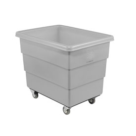 Dandux Gray Plastic Box Truck 51-126018A-3S 18 Bushel Medium Duty