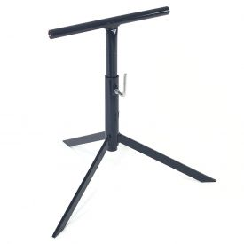 "Omni Metalcraft Adjustable Conveyor Tripod 12""W with 23"" to 39""H Range TSTD9.75-23-39 TOL"